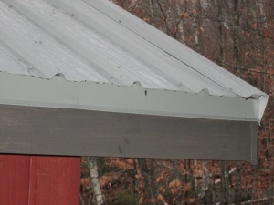 In active rain, no less! Look at that drip edge go!