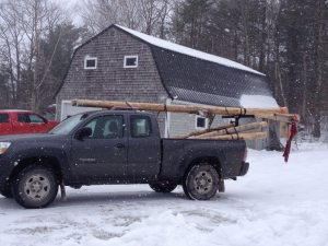 Not your typical log truck.